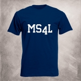 MS4L T-Shirt (navy)