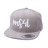 Münster Snapback Cap - MS4L Handletter (Heather)