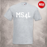 MS4L T-Shirt (grau)