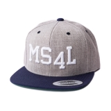 Münster Cap Snapback - MS4L (Heather/Navy)