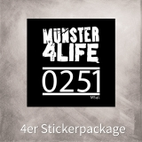 MS4L 4er Sticker Package (0251)