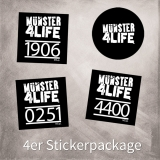 MS4L Numbers 4er Sticker Package