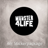 MS4L 4er Sticker Package (rund)
